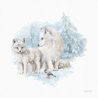 Let it Snow 07 Framed Print
