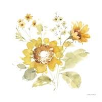 Sunflowers Forever 06 Framed Print