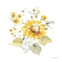 Sunflowers Forever 07 Framed Print
