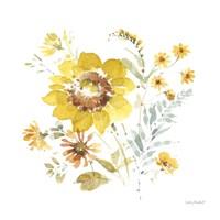 Sunflowers Forever 08 Framed Print