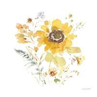 Sunflowers Forever 09 Framed Print