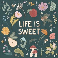 September Sweetness II Dark Framed Print