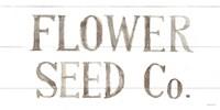 Homegrown Summer Sign III Framed Print