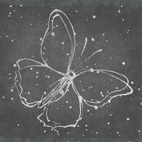 Silver Wings I Framed Print