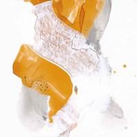 Amber Wash IV Framed Print