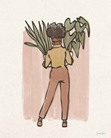 Plant Ladies I Framed Print