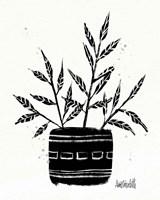Botanical Sketches IX Framed Print