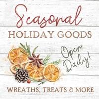 Seasonal Market VI Framed Print