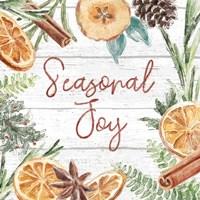 Seasonal Market V Framed Print