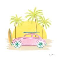 Beach Cruiser II Fine Art Print