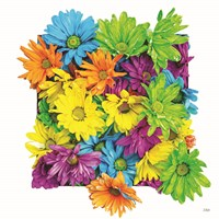 Floral Pop I Framed Print