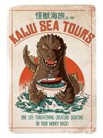 Kaiju Sea Tours Fine Art Print