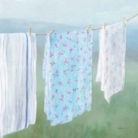 Laundry Day II Framed Print