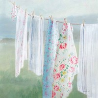 Laundry Day I Framed Print