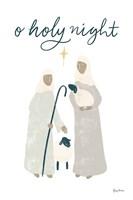 Nativity IV Framed Print