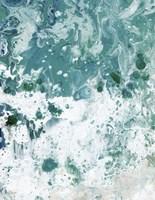 Ocean Tide Abstract I Framed Print