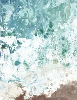 Ocean Tide Abstract II Framed Print