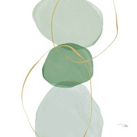 Pastel Circles III Framed Print