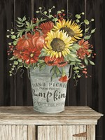 Colors of Fall Floral Fine Art Print