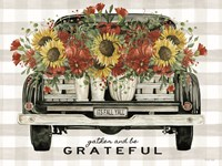 Gather and Be Grateful Fine Art Print