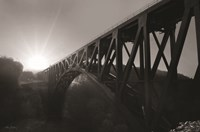 Letchworth Sunrise Framed Print