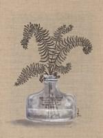 Sketchy Floral 3 Framed Print