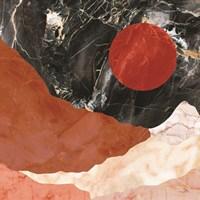 Marble Desert Framed Print