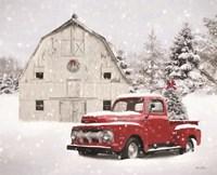 Red Christmas Fine Art Print