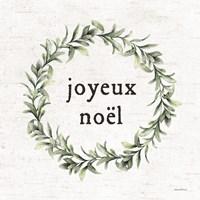 Joyeux Noel Framed Print