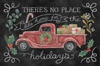 Christmas Chalk VI Framed Print