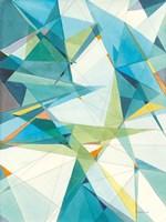Prism II Oasis Framed Print