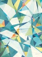 Prism I Oasis Framed Print