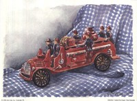 Faithful Fire Engine Fine Art Print