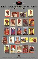 "Legends of Hockey by Richard Henson - 22"" x 35"""