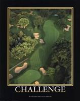 "Motivational - Challenge by Richard Henson - 11"" x 14"", FulcrumGallery.com brand"