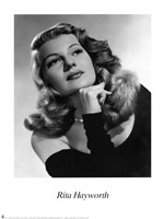 Rita Hayworth Fine Art Print
