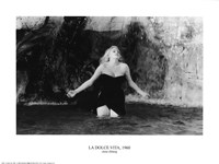 "Anita Eckberg by Richard Henson - 16"" x 12"""