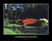 "Communication by Richard Henson - 14"" x 11"", FulcrumGallery.com brand"