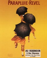 Parapluie-Revel Au Robinson Fine Art Print