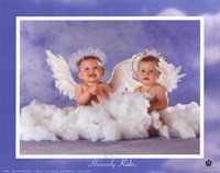 Heavenly Kids 2 Angels Fine Art Print