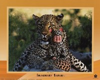 Imaginary Safari Leopar Fine Art Print