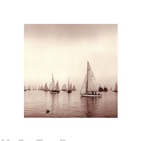 Sailing I Framed Print