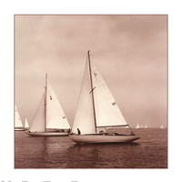 Sailing VI Framed Print
