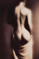 Nude Back Of Woman Fine Art Print
