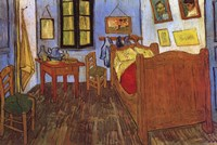 The Bedroom at Arles, c.1887 Fine Art Print