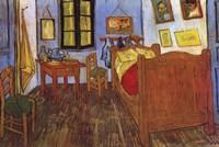 "The Bedroom at Arles, 1887 by Vincent Van Gogh, 1887 - 36"" x 24"" - $26.99"