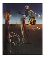 Woman with a Head of Roses, c.1935 Fine Art Print