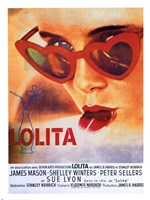Lolita Heart Sunglasses Fine Art Print
