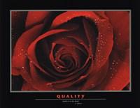 "Quality by Richard Henson - 28"" x 22"""
