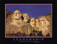 Leadership (Mt.Rushmore) Fine Art Print